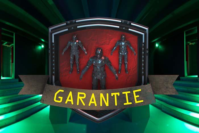 Spielfeldgarantier IR Lasergame Unterpleichfeld